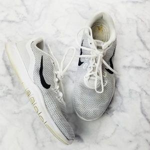 Nike|Women's Flex Trainer 7 White/Silver